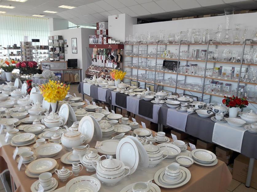 Porcelana Łódź Salon wnętrze