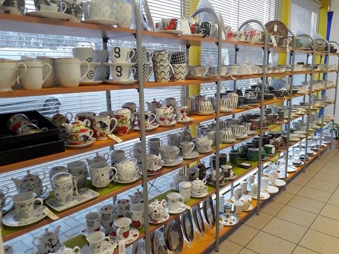 Porcelana Łódź Filiżanki