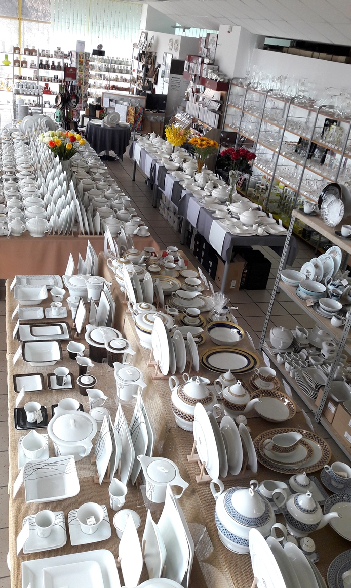 Porcelana Łódź Salon całość