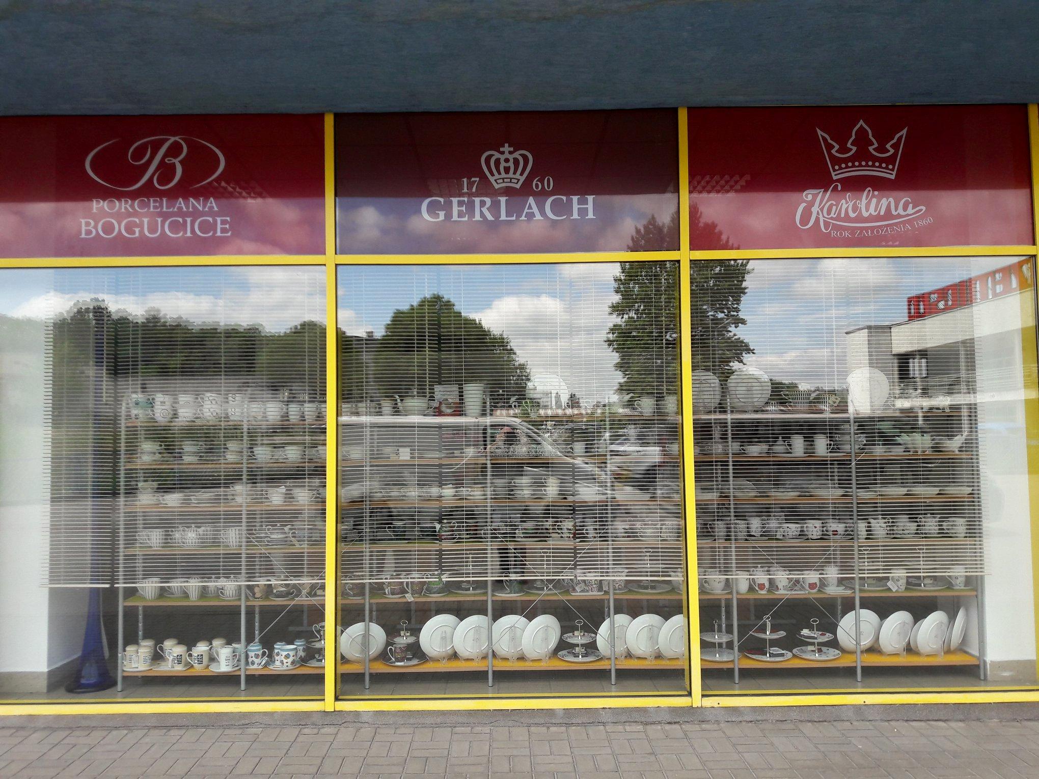 Porcelana Łódź salon wejście