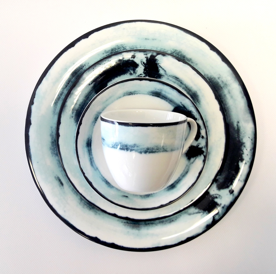 Porcelana Łódź Oceano