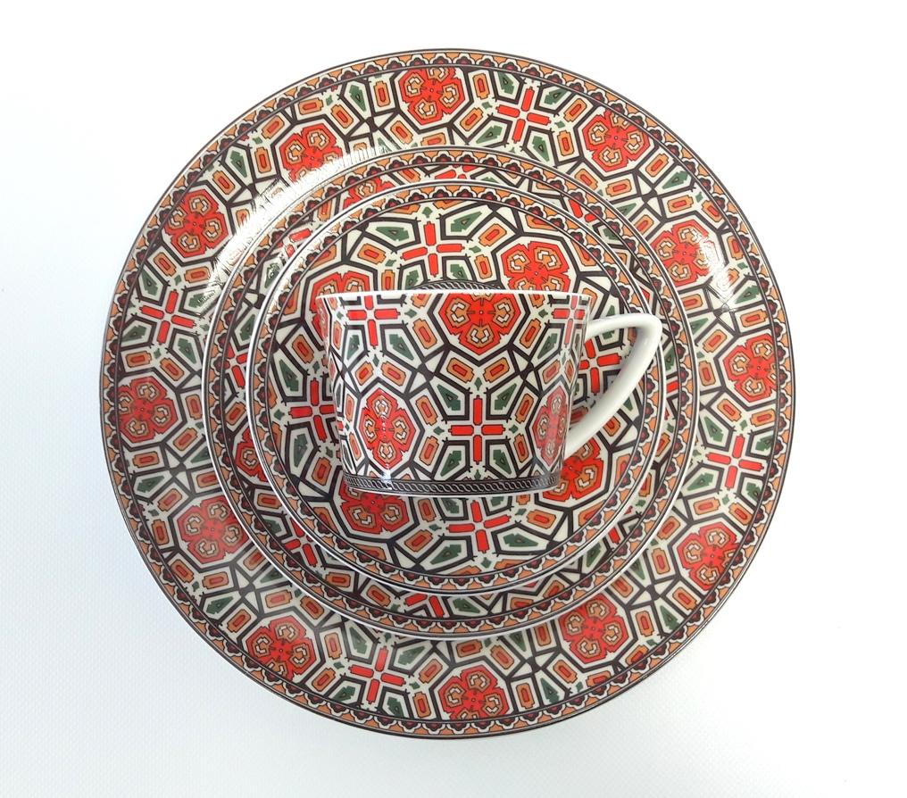 Porcelana Łódź Mosaic