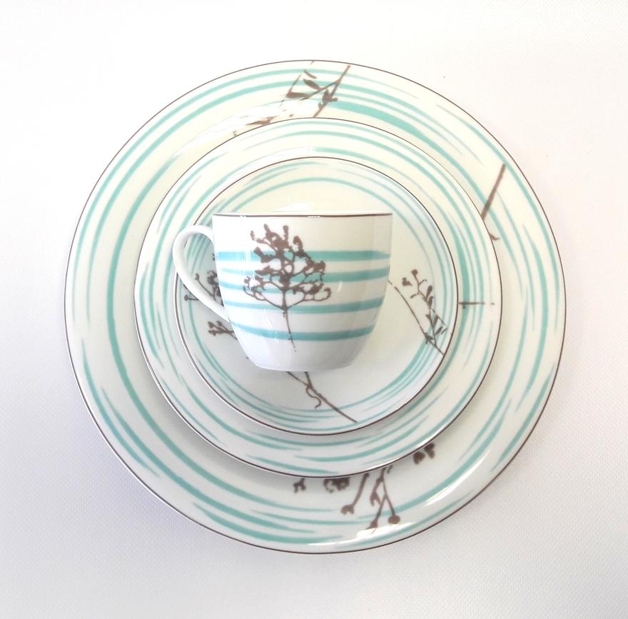 Porcelana Łódź terra
