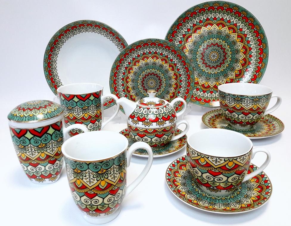 Porcelana Łódź Bombaj